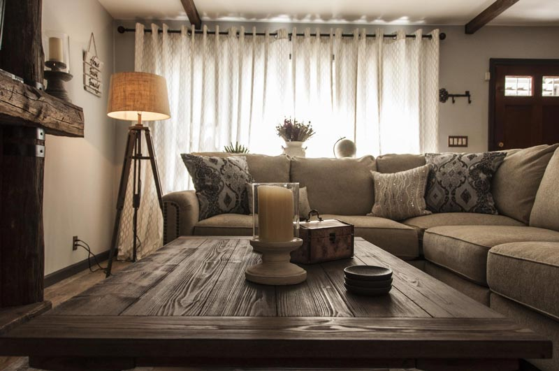 comfortable interior living room design by Anastasios Interiors