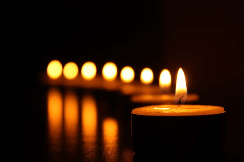 Image of burning scented candles!