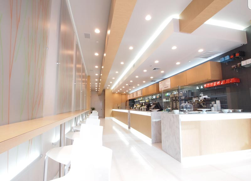 image of commercial interior design project - Crave Sandwiches store by - Anastasios Interiors
