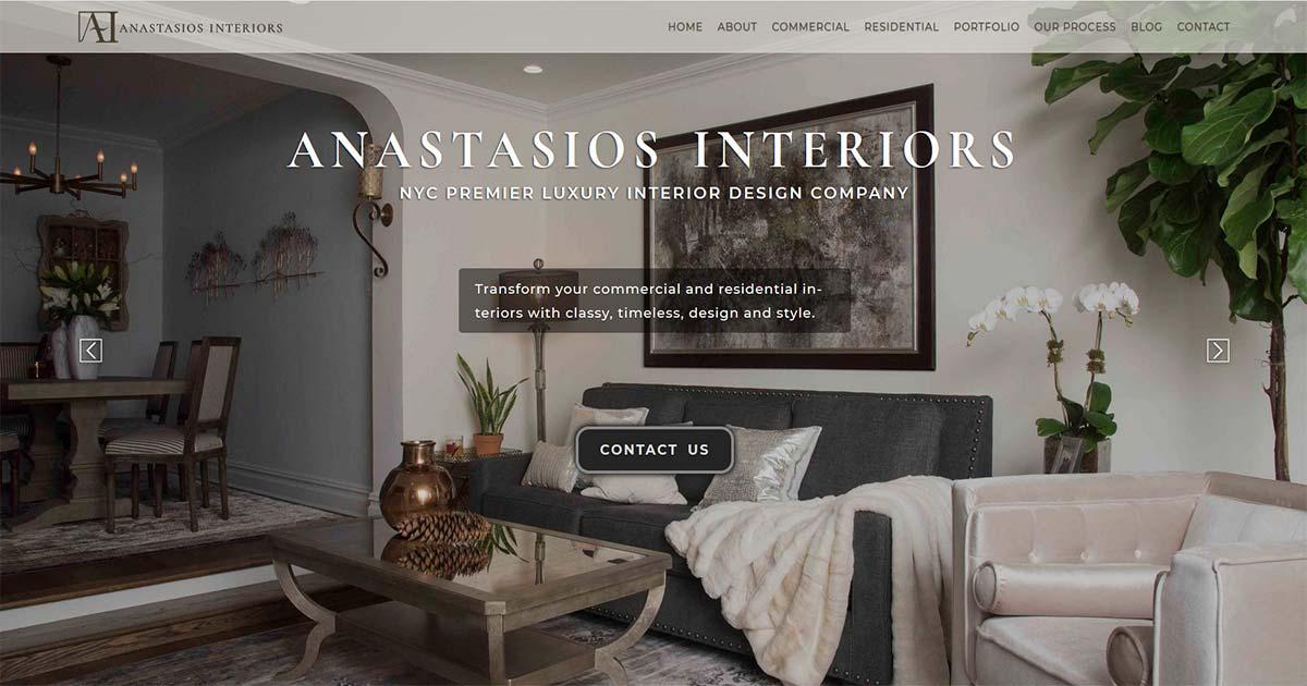 New York City Luxury Interior Design Firm Interior
