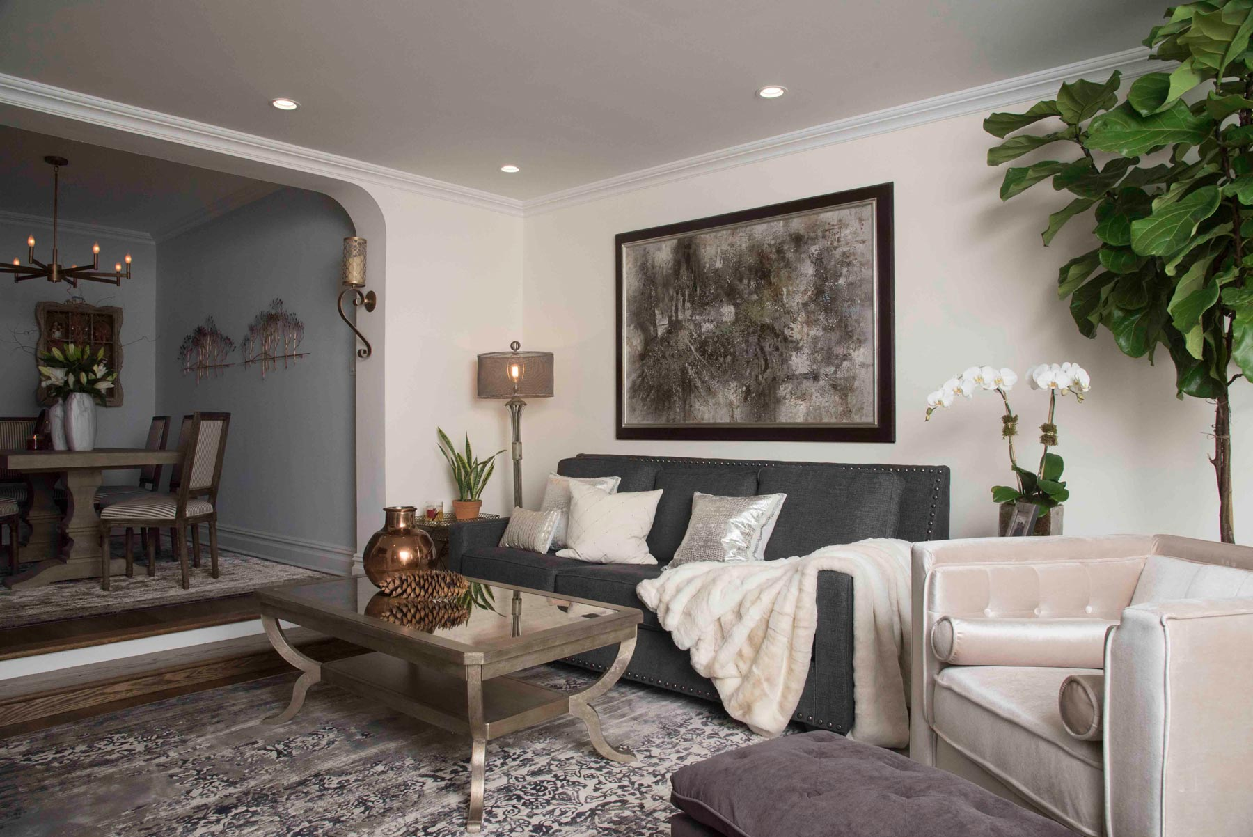 Image of Upper Eastside apartment interior design project by Anastasios Interiors